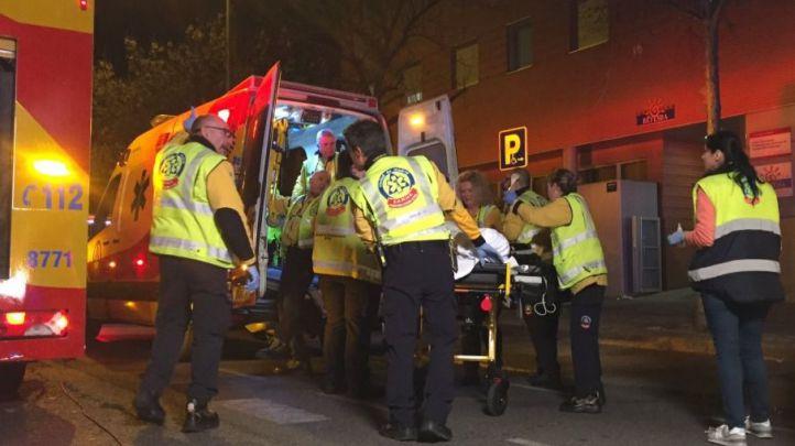Herido grave un motorista tras una colisión en Hortaleza