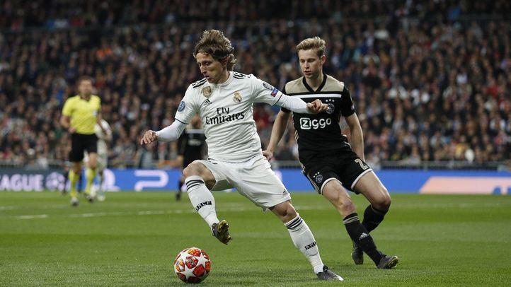 El Real Madrid se despide de la Champions tras perder 1-4 con el Ajax.