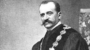Alberto de Figueroa y de Torres, más conocido como conde de Romanones.