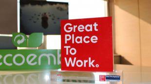 Ecoembes, reconocida como una de las mejores empresas para trabajar en España por sexto año consecutivo