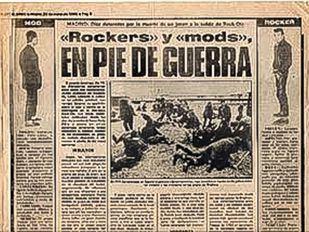 'Rockers' y 'mods': pelea mortal a las puertas de Rock-Ola
