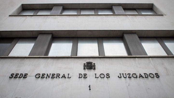 Sede de los juzgados de Plaza de Castilla.