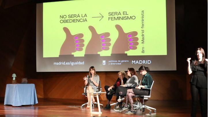 Gloria Nielfa y Sandra Sabatés, reconocidas por su labor feminista