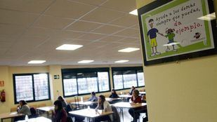 Oposiciones a Maestro en un colegio de Madrid.