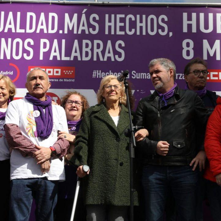 """Los sindicatos tachan de """"histórica"""" la huelga, con más paros que el año pasado"""