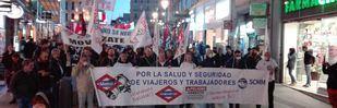 Los maquinistas secundan al 100% su huelga de los sábados