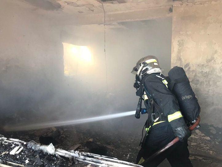 Muere un anciano de 88 años en el incendio de su casa en Pedrezuela