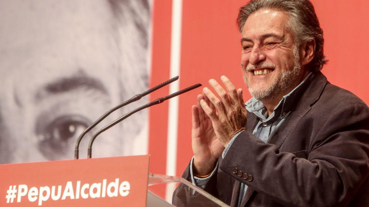 Pepu Hernández se proclama candidato al Ayuntamiento