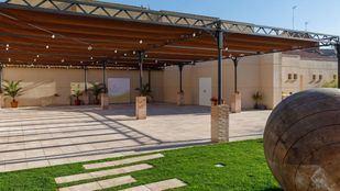 Instalaciones exteriores de la Bodega de Quintín, en Villarejo de Salvanés