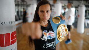 Pastrana, campeona del mundo de boxeo por tercera vez
