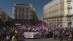 La plataforma Women in the World ha convocado una manifestación alternativa al 8M