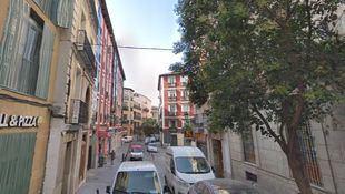 Costanilla de los Ángeles, donde se encontraba el convento.