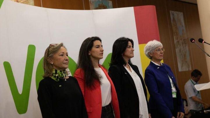 Rocío Monasterio ha protagonizado un acto en Móstoles