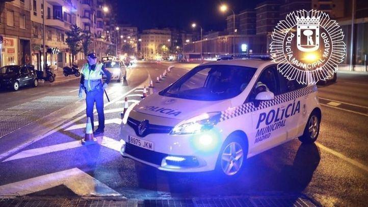 Detenido en Ciudad Lineal por agredir a su pareja en plena calle
