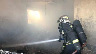 Un anciano ha muerto al incendiarse su casa de Pedrezuela.