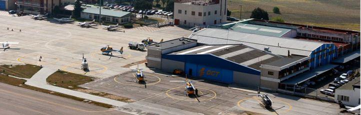Aterriza el primer aeroplano en el aeródromo de Cuatro Vientos