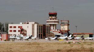 Vista del aeródromo de Cuatro Vientos