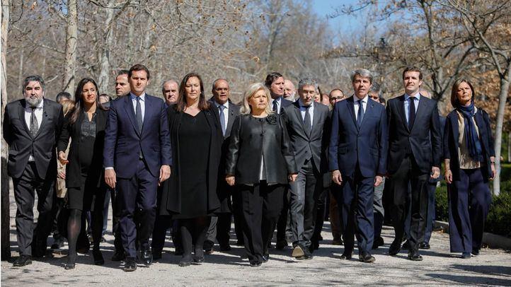 La política madrileña conmemora el aniversario de la tragedia