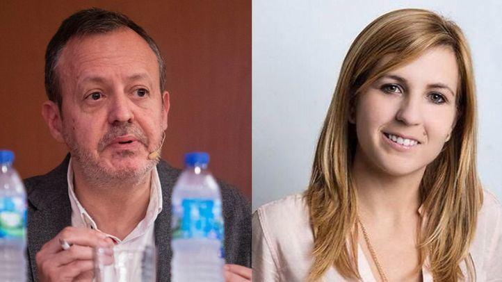Alberto Reyero (Ciudadanos) y Ana Pérez Baos (PP).
