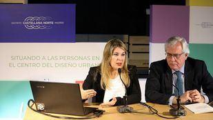 Gema del Pozo, directora del Área de Compromiso Social de DCN, y José Luis Rodríguez, dircom de la promotora.