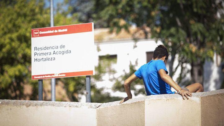 El Centro de Primera Acogida de Hortaleza.