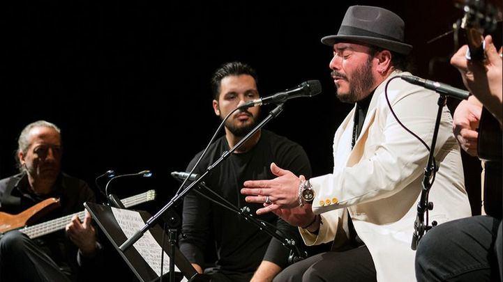 Ingueta Rubio, en una de sus actuaciones en directo.