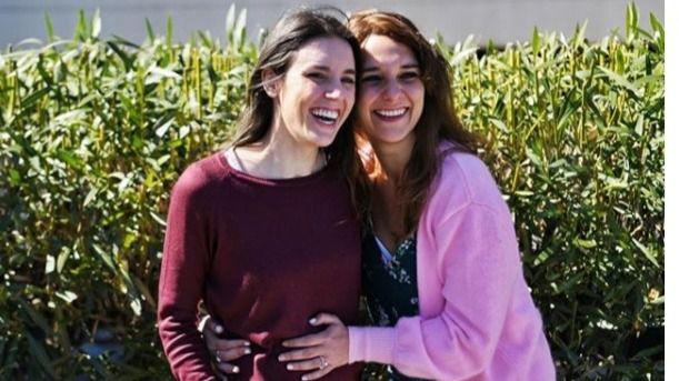 Irene Montero, embarazada de una niña