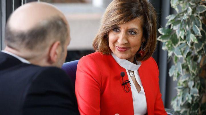 Entrevista a Carmen González Madrid, presidenta de la Fundación Merck Salud, en la Terraza de Gran Vía