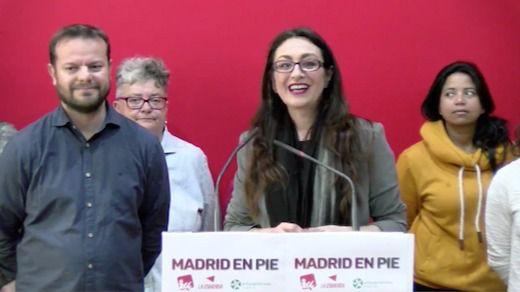 Raúl Camargo y Sol Sánchez, en una rueda de prensa conjunta.