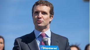 Pablo Casado, candidato del PP a la presidencia del Gobierno.