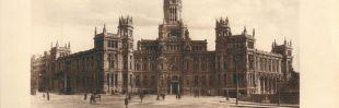 Una capilla y una sala de reparto de correo: así era el Palacio de Cibeles hace 100 años