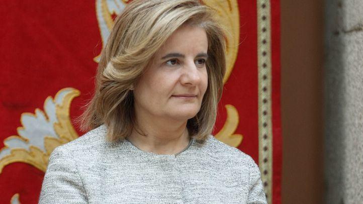 Fátima Báñez exministra de Empleo y Seguridad Social.