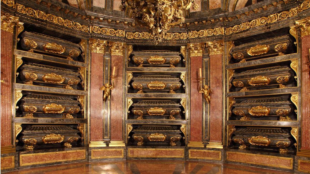 El Monasterio de El Escorial estrena panteón dinástico y pudridero ...