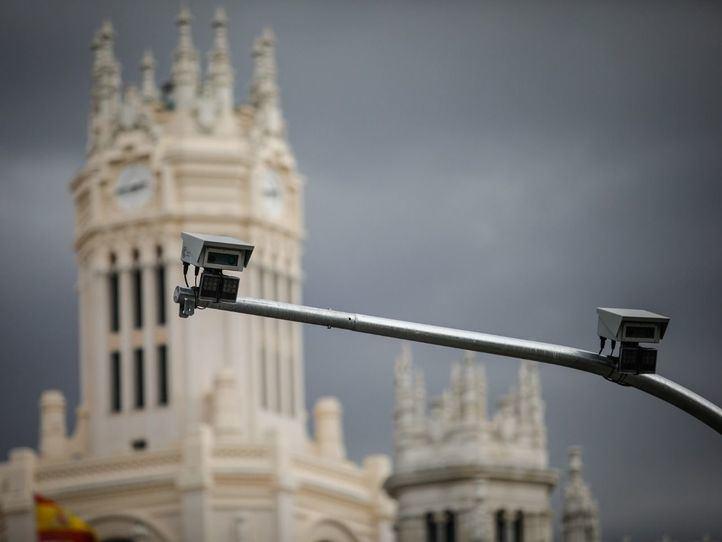 Los 115 'ojos' de Madrid Central
