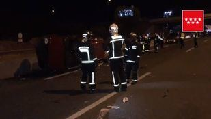 Tres coches se han visto implicados en la colisión.