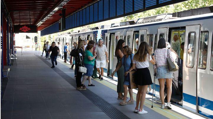 Metro organiza sus paros parciales en las líneas pares