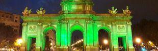 San Patricio teñirá de verde los principales monumentos madrileños