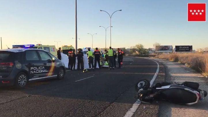 Sábado trágico: un segundo motorista pierde la vida en Leganés