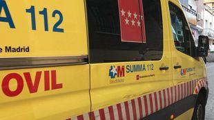 Ambulancia del SUMMA, en una foto de archivo.