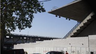 Estadio del Rayo Vallecano.
