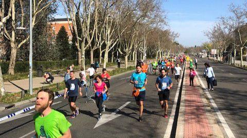 Este domingo se celebraba una nueva edición de la media maratón universitaria.