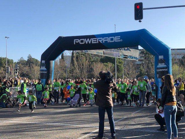 Los menores acogidos en residencias, protagonistas de la Media Maratón Universitaria