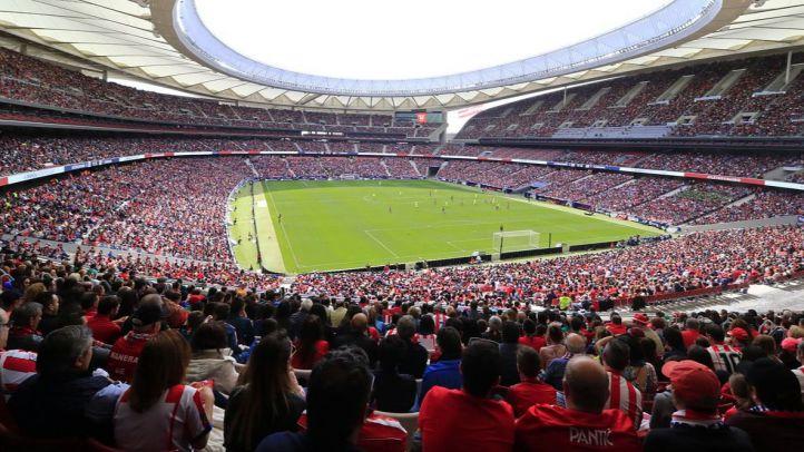 Récord de asistencia en el Wanda Metropolitano en un partido de fútbol femenino.