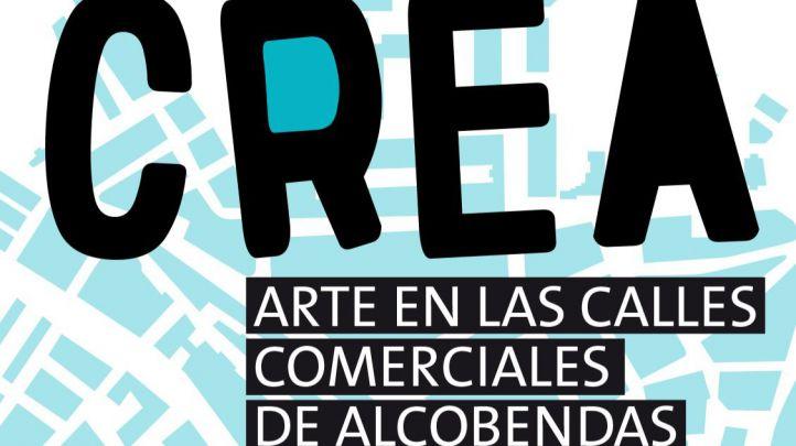 CREA: un festival de arte urbano y efímero en comercios y muros de Alcobendas