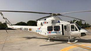 Helicóptero del SUMMA, en foto de archivo.
