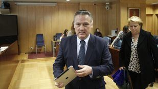 Comparecencia de Alfredo Prada, exconsejero de Justicia de la Comunidad de Madrid, en la comisión de estudio de la deuda en la Asamblea de Madrid.