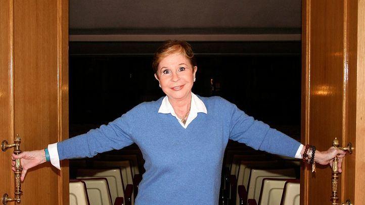 Lina Morgan recibió el Premio Madrid a Toda una Vida, de Madridiario, en 2007.