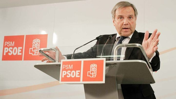 Antonio Miguel Carmona, concejal del PSOE en el Ayuntamiento de Madrid.