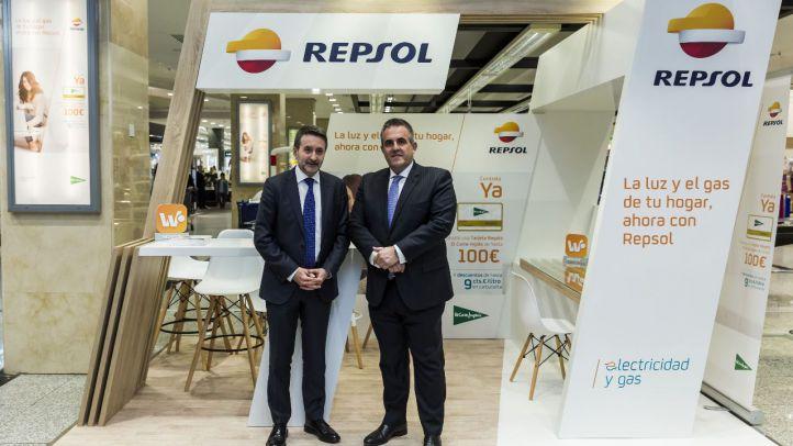 El Corte Inglés y Repsol se alían para vender electricidad y gas