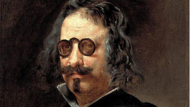 Retrato del poeta y escritor Francisco de Quevedo y Villegas.